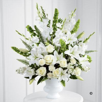 White and Green Service Arrangement *