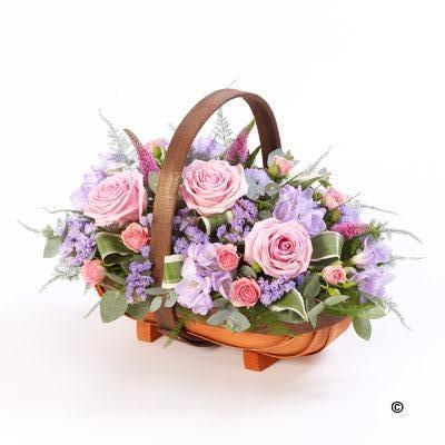 Mixed Basket   Pink and Lilac *